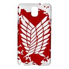 Attack On Titan Samsung Galaxy Note 3 N9005 Hardshell Case