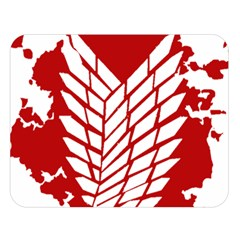 Attack On Titan Double Sided Flano Blanket (large)