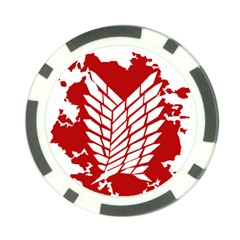 Attack On Titan Poker Chip Card Guard