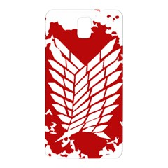 Attack On Titan Samsung Galaxy Note 3 N9005 Hardshell Back Case