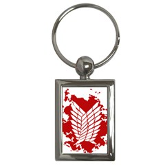 Attack On Titan Key Chains (rectangle)