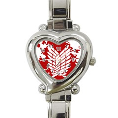 Attack On Titan Heart Italian Charm Watch