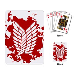 Attack On Titan Playing Card