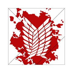 Attack On Titan Acrylic Tangram Puzzle (6  X 6 )
