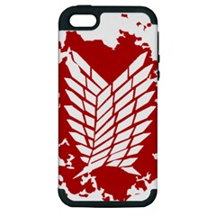 Attack On Titan Apple Iphone 5 Hardshell Case (pc+silicone)