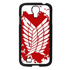 Attack On Titan Samsung Galaxy S4 I9500/ I9505 Case (black)