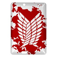 Attack On Titan Amazon Kindle Fire Hd (2013) Hardshell Case by Animestyle