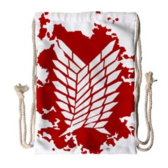 Attack On Titan Drawstring Bag (large)