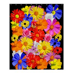 Assorted Petals Shower Curtain 60  X 72  (medium)
