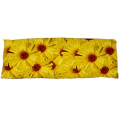 Yellow Flowers Body Pillow Case (dakimakura)