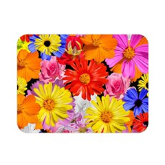 Assorted Petals Double Sided Flano Blanket (mini)
