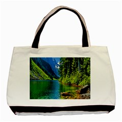 Beautiful Nature Lake Basic Tote Bag