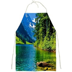 Beautiful Nature Lake Full Print Aprons