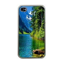 Beautiful Nature Lake Apple Iphone 4 Case (clear)