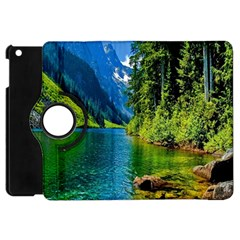 Beautiful Nature Lake Apple Ipad Mini Flip 360 Case