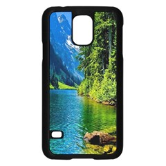 Beautiful Nature Lake Samsung Galaxy S5 Case (black)