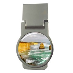 Coastal Landscape Money Clips (round)