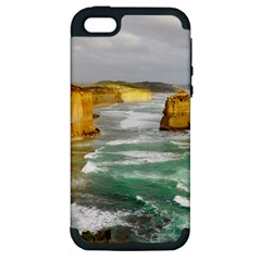 Coastal Landscape Apple Iphone 5 Hardshell Case (pc+silicone)