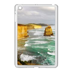 Coastal Landscape Apple Ipad Mini Case (white) by Modern2018
