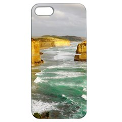 Coastal Landscape Apple Iphone 5 Hardshell Case With Stand