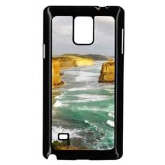 Coastal Landscape Samsung Galaxy Note 4 Case (black)