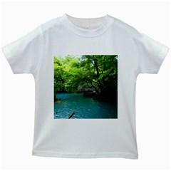 Backgrounds List Of Lake Background Beautiful Waterfalls Nature Kids White T Shirts