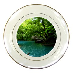 Backgrounds List Of Lake Background Beautiful Waterfalls Nature Porcelain Plates