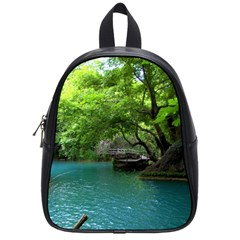 Backgrounds List Of Lake Background Beautiful Waterfalls Nature School Bag (small)