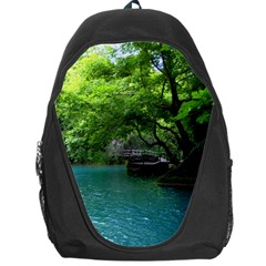 Backgrounds List Of Lake Background Beautiful Waterfalls Nature Backpack Bag