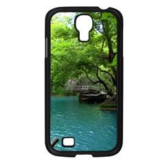 Backgrounds List Of Lake Background Beautiful Waterfalls Nature Samsung Galaxy S4 I9500/ I9505 Case (black)