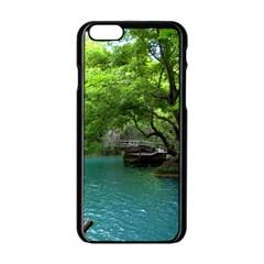 Backgrounds List Of Lake Background Beautiful Waterfalls Nature Apple Iphone 6/6s Black Enamel Case