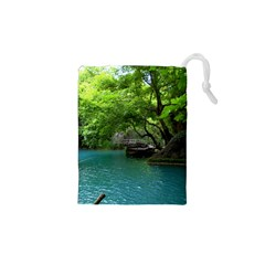 Backgrounds List Of Lake Background Beautiful Waterfalls Nature Drawstring Pouches (xs)