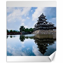 Beautiful Pagoda On Lake Nature Wallpaper Canvas 16  X 20