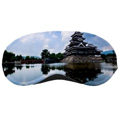 Beautiful Pagoda On Lake Nature Wallpaper Sleeping Masks