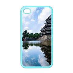 Beautiful Pagoda On Lake Nature Wallpaper Apple Iphone 4 Case (color)
