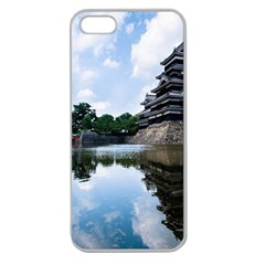 Beautiful Pagoda On Lake Nature Wallpaper Apple Seamless Iphone 5 Case (clear)