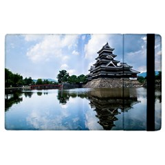 Beautiful Pagoda On Lake Nature Wallpaper Apple Ipad 2 Flip Case