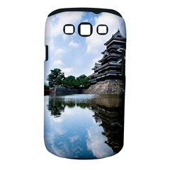 Beautiful Pagoda On Lake Nature Wallpaper Samsung Galaxy S Iii Classic Hardshell Case (pc+silicone)
