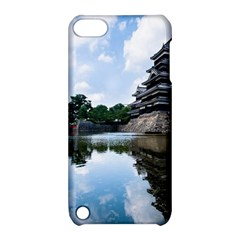 Beautiful Pagoda On Lake Nature Wallpaper Apple Ipod Touch 5 Hardshell Case With Stand