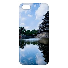 Beautiful Pagoda On Lake Nature Wallpaper Apple Iphone 5 Premium Hardshell Case by Modern2018