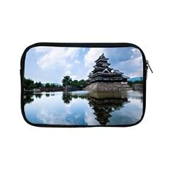 Beautiful Pagoda On Lake Nature Wallpaper Apple Ipad Mini Zipper Cases