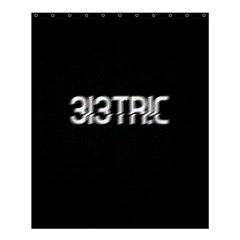 3l3tr!c Shower Curtain 60  X 72  (medium)