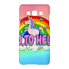 Go To Hell   Unicorn Samsung Galaxy A5 Hardshell Case