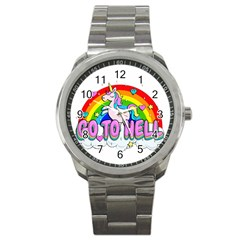 Go To Hell   Unicorn Sport Metal Watch