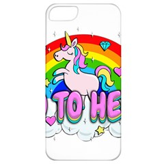 Go To Hell   Unicorn Apple Iphone 5 Classic Hardshell Case