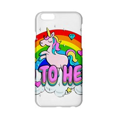 Go To Hell   Unicorn Apple Iphone 6/6s Hardshell Case