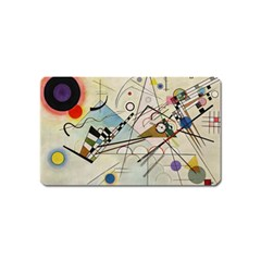 Composition 8   Vasily Kandinsky Magnet (name Card)