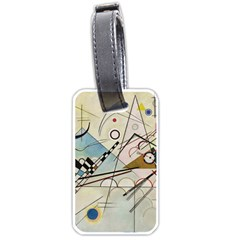 Composition 8   Vasily Kandinsky Luggage Tags (one Side)