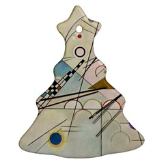 Composition 8   Vasily Kandinsky Christmas Tree Ornament (two Sides)