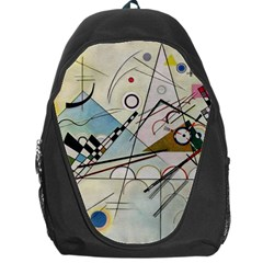 Composition 8   Vasily Kandinsky Backpack Bag